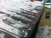 Защита крыши от льда и снега